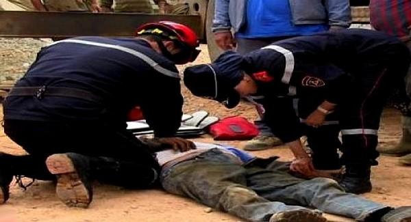 وفاة صباغ بعد سقوطه من الطابق الثاني لإحدى العمارات بميضار