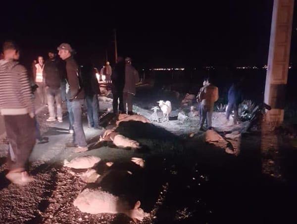 حادثة سير خطيرة بين الناظور و بركان