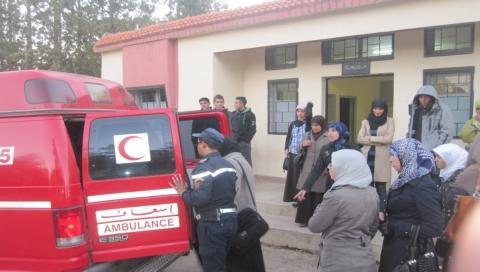 انتحار طالب بالحي الجامعي بوجدة