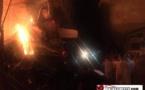 فاجعة حريق سوق كاسابراطا بطنجة / فيديو