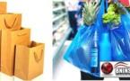 لجنة خاصة تقوم بجولة على متاجر بني انصار لمنع استعمال جميع أنواع البلاستيك والتجار يطالبون بالبديل