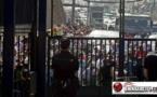 """الشرطة الاسبانية تذل المئات من المواطنين المغاربة بعد منعهم من الدخول لمشاهدة """"فيريا""""  بمليلية/ فيديو"""