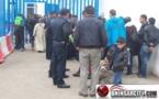 خطير...  عناصر شرطة معبر بني انصار بإقليم الناظور في قفص الإتهام