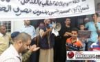 ساكنة حي وهدانة تستغيث وتطالب بالإسراع في إنجاز مشروع الصرف الصحي أمام مقر بلدية بني انصار /فيديو
