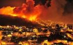 حرائق ضخمة باسرائيل