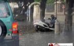 فيضانات إثر تساقطات مطرية  بمليلية المحتلة