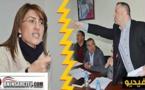شتائم و فوضى بين سليمان حوليش و المعارضة في دورة بلدية الناظور/ فيديو
