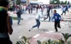 مواجهة دامية في الشارع عقب نهاية مباراة الحسيمة والوداد+ فيديو