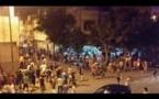 مواجهات عنيفة في مبارة الوداد البيضاوي وشباب الريف الحسيمي+ فيديو