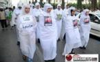 مسيرة الاكفان بالحسيمة/فيديو