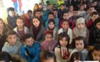 اليوم العالمي للتوحد بمدرسة البكري الإبتدائية ببني انصار/ فيديو