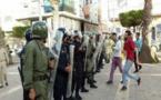 مسيرة الحراك الشعبي بالناظور: إصابات في صفوف النشطاء+ فيديو