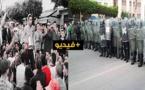 مهرجان خطابي ضخم لحراكيو العروي; عمد خلاله النشطاء إلى تأدية قسم الوفاء للحراك § فيديو