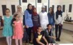أساتذة مادة التربية التشكيلية بثانوية إعدادية بني انصار يحتفلون بالايام الثقافية والفنية