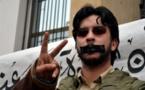 أسامة الخلفي أحد النشطاء المغاربة وأبرز وجوه حركة 20 فبراير يؤكد تهديده بالقتل بسبب تضامنه مع حراك الريف