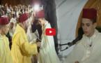 الملك محمد السادس بمسجد الحسن الثاني بالدار البيضاء في حفل ديني اقيم احياءً لليلة القدر المباركة.
