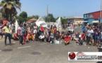 la frontera de Melilla / Beni Enzar: al menos dos detenidos en la protesta por el paso de corderos