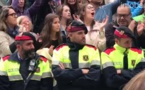 Cataluna: Mossos lloran de rabia ante la actuación de la Policia Nacional en Lleida/video