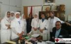 حملة وطنية للتحسيس والكشف المبكر عن سرطان الثدي بحي بزروالة بجماعة بني انصار
