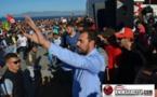 ناصر الزفزافي قائد حراك الريف يتهم مسؤولين في الناظور بمحاولة تصفيته مقابل 50 درهما