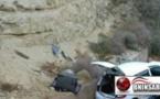 حادثة سير: انقلاب سيارة تقل عدة اشخاص على الطريق بين الناظور والحسيمة