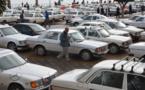 إضراب سائقي سيارات الأجرة الكبيرة بالناظور للمطالبة برفع تسعيرة النقل