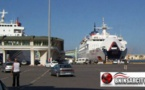 زيارة تفقدية  للميناء التجاري لمدينة بني انصار من طرف عامل إقليم الناظور