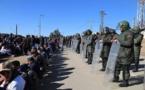 مواجهات دامية  بمدينة جرادة بلغت حوالي 200 مصابا/ فيديو