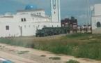 عربات عسكرية تابعة للقوات المسلحة الملكية تحط رحالها برأس الماء