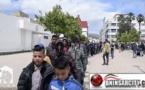 مسيرة وسط شوارع مدينة الناظور تخليدا لليوم العالمي للمتشردين