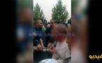 عون سلطة تابع لولاية جهة الشرق عمالة وجدة أنجاد حاول إضرام النار في بدنه باستعمال مادة حارقة/ فيديو