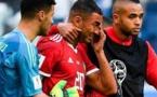 مبارة المغرب # إيران: بوحدوز يسجل هدف ضد مرماه في الدقيقة  95 فيديو