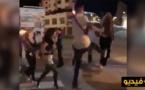 كورنيش مدينة طنجة: اعتراض سبيل فتاتين وتعنيفهما بسبب  لباس فاضح  في الشارع العام. فيديو