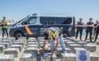 الحرس المدني الاسبانية يحبط محاولة إدخال نصف طن من مخدر الكوكايين الى إسبانيا / فيديو