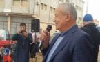 أبرشان يتزعم احتجاجا ببويافر ضد مندوب وزارة الصيد البحري بالناظور