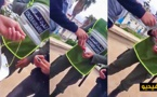 """المتفشية العامة للقوات المساعدة توقف """"مخازني"""" يبيع الديطاي في الملعب البلدي بالناظور/ فيديو"""