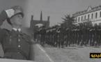 """استعراض عسكري للجيش الإسباني داخل ثكنة """"تاويمة"""" الكائنة على مشارف مدينة الناظور"""