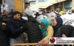 ممتهنات التهريب المعيشي يخضن احتجاجات من أجل لقمة العيش