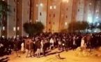 حريق بالحي الجامعي بوجدة