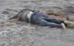"""انتشال  جثة رجل بشاطئ """"إفري أفوناس"""" نواحي دار الكبداني بإقليم الدريوش"""