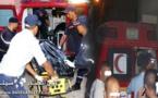 فاجعة: 3  قتلى في حادث انقلاب سيارة نقل باقليم الدريوش