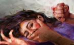 زوج يقتل زوجته ويحرقها ببيت الزوجية