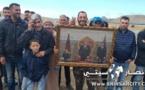احتجاجات ضد نزع الملكية لاراضي بجماعة إيعزانن بإقليم الناظور