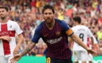 ميسي يتوج بجائزة أفضل هدف في تاريخ برشلونة