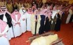 صلاة الجنازة على جثمان الملك الراحل عبد الله بن عبد العزيز آل سعود/ فيديو