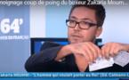 الملاكم والبطل المغربي  زكرياء مومني يمزق جواز سفره المغربي/ فيديو