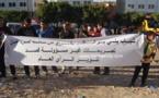 مهرجانا خطابيا من أجل التوضيح م والرد على المحتجين ضد البرلماني  محمد أبرشان