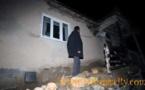 عاجل : الزلزال يؤدي الى انهيار سقف قيادة بني شيكر