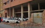 حادثة خطيرة  بمليلية المحتلة: سقوط حائط قديم على 8 سيارات