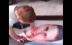 الطفلة السورية اليتيمة التي أبكت الملايين/ فيديو